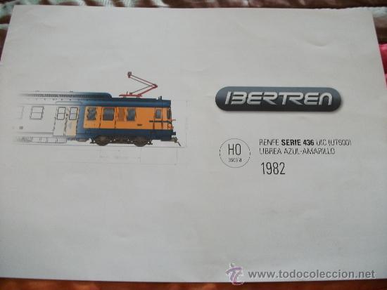 CATALOGO IBERTREN , SERIE 436, UT600, 1982, HO. segunda mano
