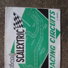 Juguetes antiguos: RACING CIRCUITS, CATALOGO DE CIRCUITOS. Lote 34289753