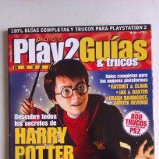 Juguetes antiguos: REVISTA PLAYMANIA GUIAS & TRUCOS Nº 20 - ESPECIAL HARRY POTTER Y LOS MEJORES JUEGOS DE PLATAFORMAS. Lote 34452426