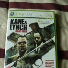 Juguetes antiguos: KANE Y LYNCH : DEAD MEN - XBOX 360 - NUEVO. Lote 34683791