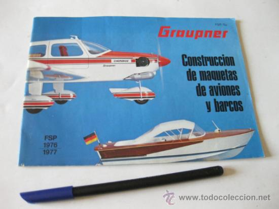 CATALOGO EN COLOR DE MAQUETAS GRAUPNER - AGOSTO DE 1976 (Juguetes - Catálogos y Revistas de Juguetes)
