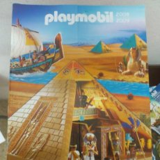 Juguetes antiguos: CATALOGO ALEMÁN PLAYMOBIL 2008-2009 NOVEDAD EGIPTO. Lote 34937385