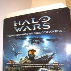 Juguetes antiguos: HALO WARS FÜR XBOX 360 CARTEL PUBLICITARIO CUBO TRIDIMENSIONAL. Lote 35202930