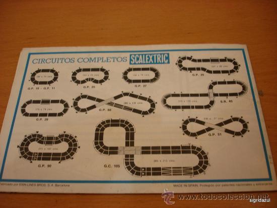 Juguetes antiguos: SCALEXTRIC EXIN CATALOGO TRAMOS ACCESORIOS, RECAMBIOS 1981 - Foto 2 - 35424158
