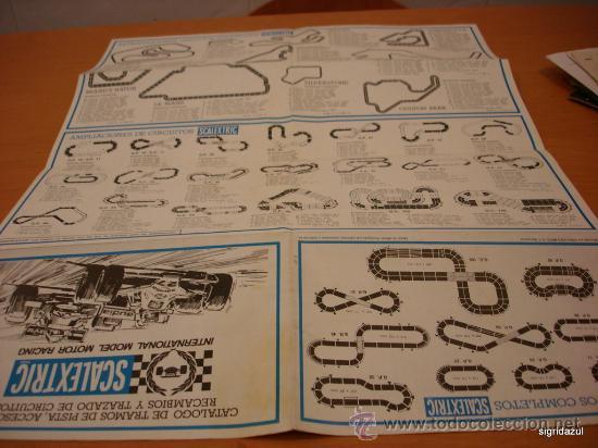 Juguetes antiguos: SCALEXTRIC EXIN CATALOGO TRAMOS ACCESORIOS, RECAMBIOS 1981 - Foto 4 - 35424158