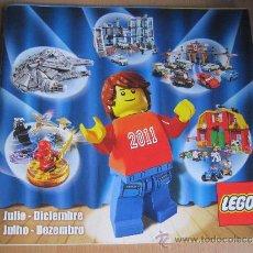 Juguetes antiguos: CATÁLOGO LEGO 2011. Lote 35512219