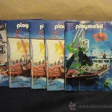 Juguetes antiguos: LOTE MINI CATALOGOS PLAYMOBIL. Lote 35589881