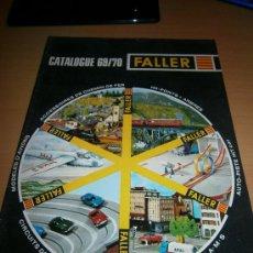 Juguetes antiguos: CATALOGO FALLER, 1969/70, MAQUETAS, AVIONES, SLOT.. Lote 35625150