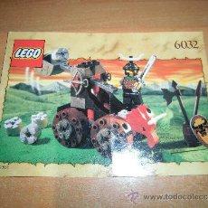Juguetes antiguos: LEGO 6032 INSTRUCCIONES DE MONTAJE. Lote 36001870