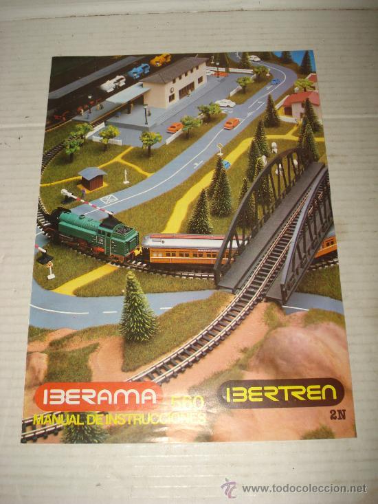 Manual de Instrucciones del IBERAMA 560 en Escala *N* IBERTREN del año 1986 . segunda mano