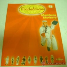 Juguetes antiguos: FASCICULO MADELMAN ALTAYA Nº 12 MARINERO. Lote 36243554