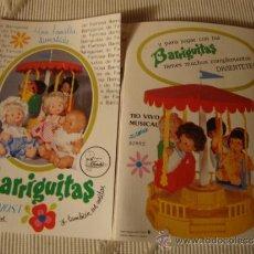 Juguetes antiguos: CATALOGO ORIGINAL BARRIGUITAS DE FAMOSA ESPAÑA EXCELENTE C.-10 SALIDO DE JUGUETERIA. Lote 51652311