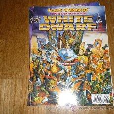 Juguetes antiguos: REVISTA WHITE DWARF NÚMERO 8 -ESPAÑOL- GAMES WORKSHOP - ENERO/FEBRERO 1995. Lote 36586565