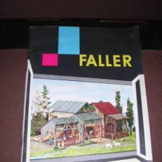Juguetes antiguos: TRENES - CATALOGO FALLER DM 1960/61 ILUSTRADO 52 PAG. 21X15 CM. . Lote 36592647