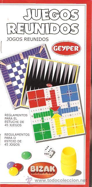 Reglamento Juegos Reunidos Geyper Bizak Comprar Catalogos Y