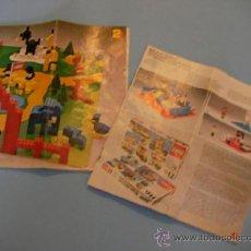 Juguetes antiguos: LOTE DE ANTIGUOS CATALOGOS LEGO - ENVIO GRATIS A ESPAÑA. Lote 37367027
