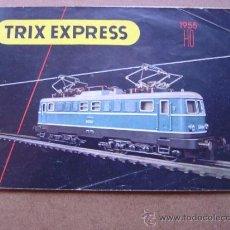 Juguetes antiguos: CATALOGO TRIX EXPRESS - AÑO 1955 - CONTIENE SUPLEMENTO. Lote 135241986