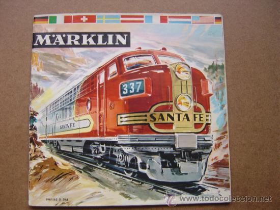 CATALOGO DE TRENES MARKLIN DE 1961-1962 61-62 IDIOMA D DM (Juguetes - Catálogos y Revistas de Juguetes)