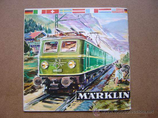 Juguetes antiguos: CATALOGO DE TRENES MARKLIN DE 1961-1962 61-62 IDIOMA D DM - Foto 9 - 37578654