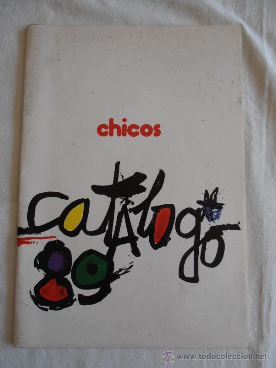 CATALOGO JUGUETES CHICO 1989 CON TARIFA DE PRECIOS (Juguetes - Catálogos y Revistas de Juguetes)