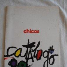Juguetes antiguos: CATALOGO JUGUETES CHICO 1989 CON TARIFA DE PRECIOS. Lote 37665742