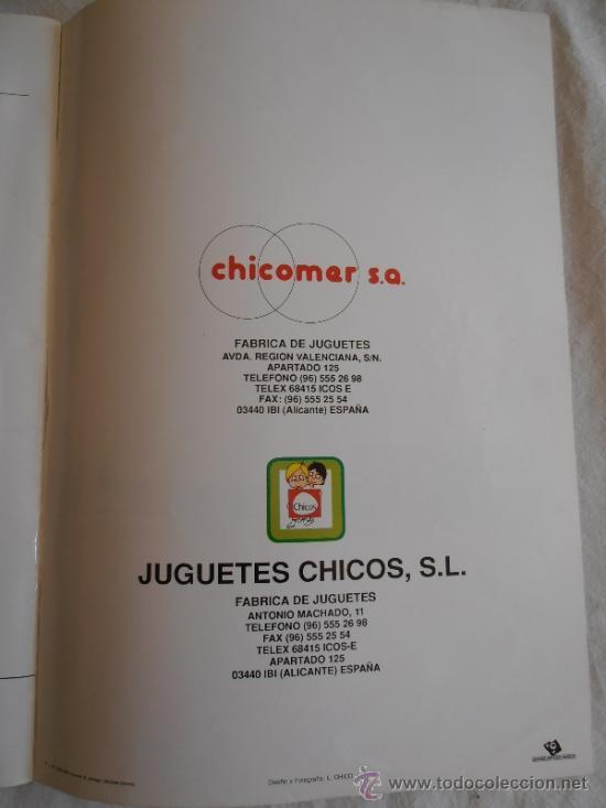 Juguetes antiguos: CATALOGO JUGUETES CHICO 1989 CON TARIFA DE PRECIOS - Foto 8 - 37665742
