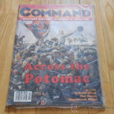 Juguetes antiguos: REVISTA WARGAME COMMAND 30 - ACROSS THE POTOMAC - XTR CORPORATION 1994. Lote 37655522