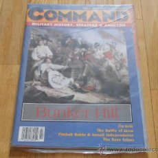 Juguetes antiguos: REVISTA WARGAME COMMAND 32 - BUNKER HILL - XTR CORPORATION 1995. Lote 37655947