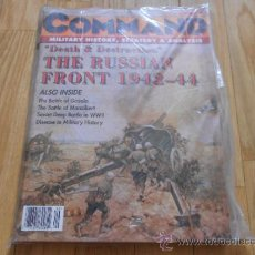 Juguetes antiguos: REVISTA WARGAME COMMAND 34 - DEAD & DESTRUCTION: THE RUSSIAN FRONT 1942-1944 - XTR CORPORATION 1995. Lote 37656140