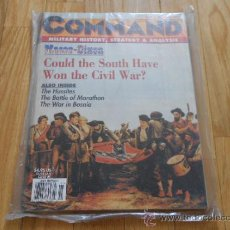Juguetes antiguos: REVISTA WARGAME COMMAND 35 - MASON-DIXON - XTR CORPORATION 1995. Lote 70523083