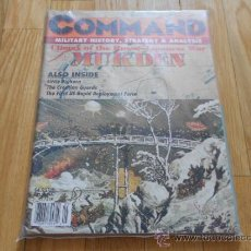 Juguetes antiguos: REVISTA WARGAME COMMAND 37 - MUKDEN - XTR CORPORATION 1996. Lote 37657604