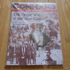 Juguetes antiguos: REVISTA WARGAME COMMAND 38 - THE GREAT WAR IN THE NEAR EAST - XTR CORPORATION 1996. Lote 37657625