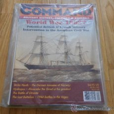Juguetes antiguos: REVISTA WARGAME COMMAND 39 - STRIKE NORTH - HOORAH! - XTR CORPORATION 1996. Lote 37658196