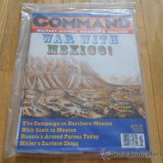 Juguetes antiguos: REVISTA WARGAME COMMAND 40 - BATTLE OF BUENA VISTA - MOSCOW BURNING - XTR CORPORATION 1996. Lote 37658394