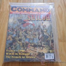 Juguetes antiguos: REVISTA WARGAME COMMAND 42 - HELL BEFORE NIGHT SHILOH - BLITZKRIEG 1940 - XTR CORPORATION 1997. Lote 37658918