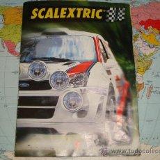 Juguetes antiguos: PRIMER FASCICULO DEL CIRCUITO WRC MONTECARLO DE SCALEXTRIC. Lote 37744197