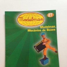 Juguetes antiguos: CATÁLOGO / FASCÍCULO MADELMAN ALTAYA Nº 27, MECÁNICO DE BOXES.. Lote 38520810