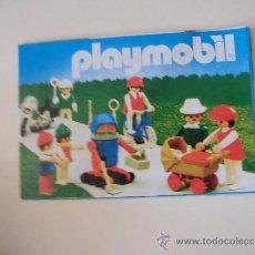 Juguetes antiguos: CATALOGO DE PLAYMOBIL . Lote 38644300
