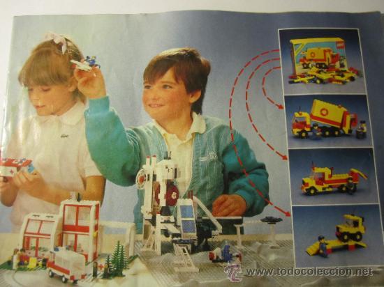 CATALOGO LEGO 1987 (Juguetes - Catálogos y Revistas de Juguetes)