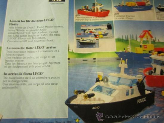 Juguetes antiguos: CATALOGO LEGO 1987 - Foto 2 - 38996696