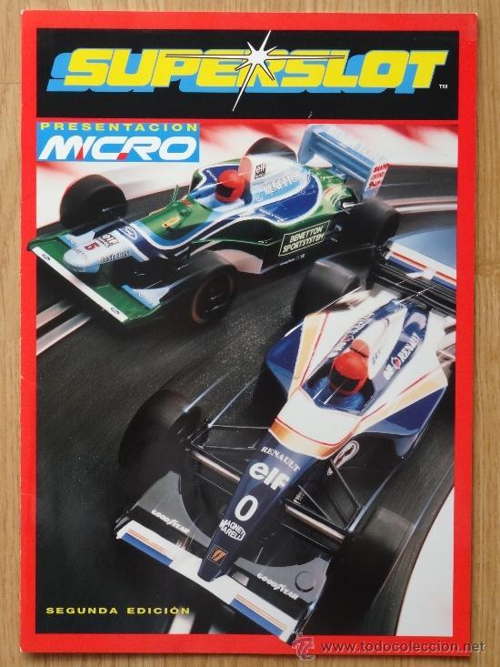REVISTA SUPERSLOT SCALEXTRIC (PRESENTACION MICRO) SEGUNADA EDICION 1995 (Juguetes - Catálogos y Revistas de Juguetes)