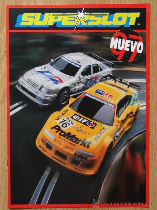 REVISTA SUPERSLOT SCALEXTRIC 1997 (Juguetes - Catálogos y Revistas de Juguetes)