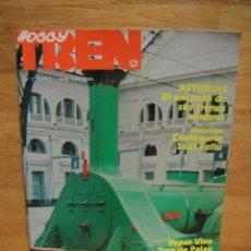 Juguetes antiguos: REVISTA HOBBY TREN Nº 1. Lote 39679606