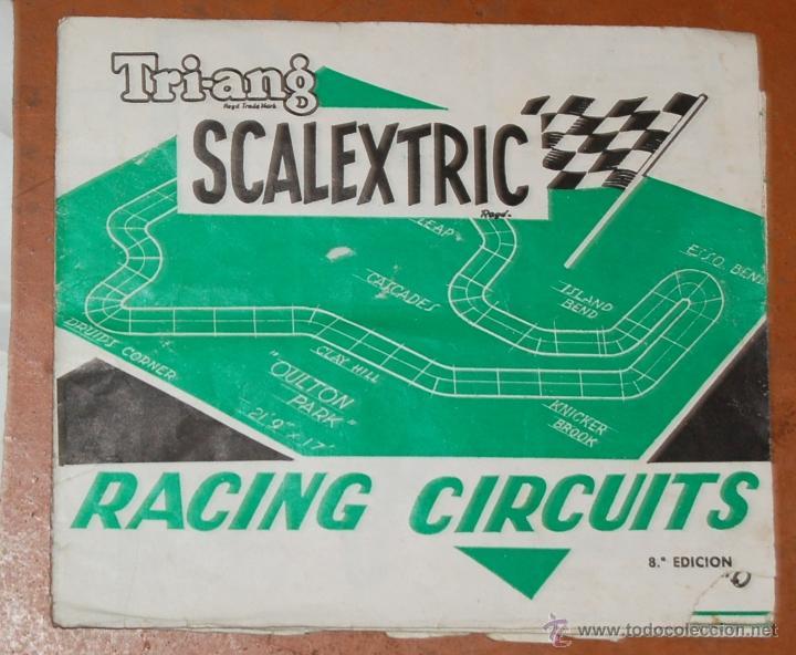 Juguetes antiguos: LOTE DE CATÁLOGOS 'SCALEXTRIC TRI-ANG RACING CIRCUITS - VARIAS EDICIONES Y OTROS FOLLETOS - Foto 2 - 40215323
