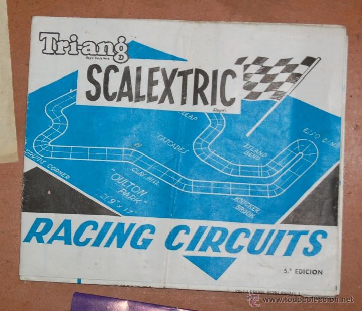 Juguetes antiguos: LOTE DE CATÁLOGOS 'SCALEXTRIC TRI-ANG RACING CIRCUITS - VARIAS EDICIONES Y OTROS FOLLETOS - Foto 3 - 40215323