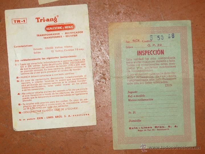 Juguetes antiguos: LOTE DE CATÁLOGOS 'SCALEXTRIC TRI-ANG RACING CIRCUITS - VARIAS EDICIONES Y OTROS FOLLETOS - Foto 4 - 40215323