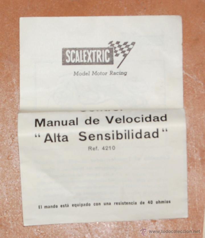 Juguetes antiguos: LOTE DE CATÁLOGOS 'SCALEXTRIC TRI-ANG RACING CIRCUITS - VARIAS EDICIONES Y OTROS FOLLETOS - Foto 8 - 40215323