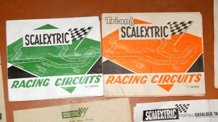 Juguetes antiguos: LOTE DE CATÁLOGOS 'SCALEXTRIC TRI-ANG RACING CIRCUITS - VARIAS EDICIONES Y OTROS FOLLETOS - Foto 10 - 40215323