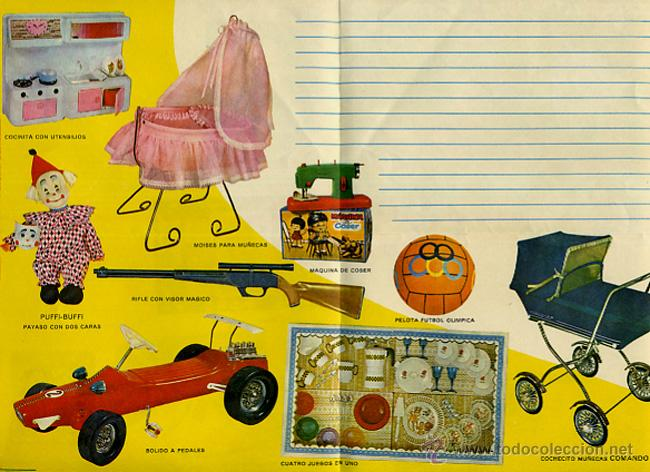 CARTA REYES MAGOS , CATALOGO JUGUETES , 1969 , ORIGINAL (Juguetes - Catálogos y Revistas de Juguetes)