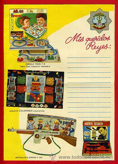 Juguetes antiguos: CARTA REYES MAGOS , CATALOGO JUGUETES , 1969 , ORIGINAL - Foto 3 - 106135115